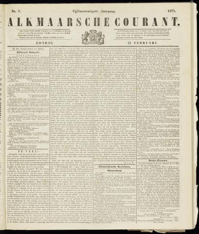 Alkmaarsche Courant 1873-02-23
