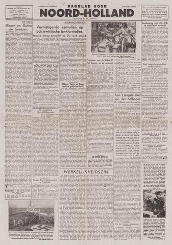 Dagblad Noord-Holland, Schager editie 1943-08-14