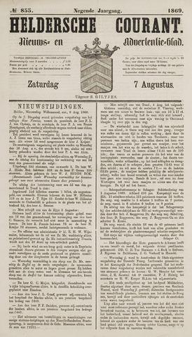 Heldersche Courant 1869-08-07