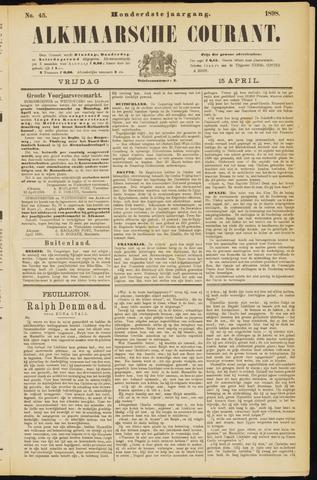 Alkmaarsche Courant 1898-04-15
