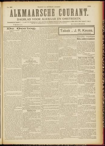 Alkmaarsche Courant 1916-12-22