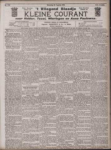 Vliegend blaadje : nieuws- en advertentiebode voor Den Helder 1903-08-26