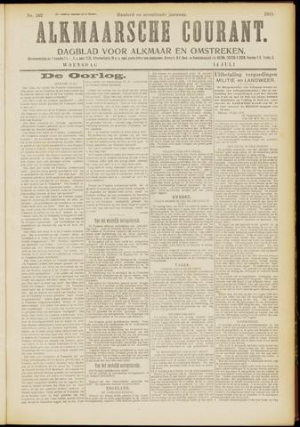 Alkmaarsche Courant 1915-07-14