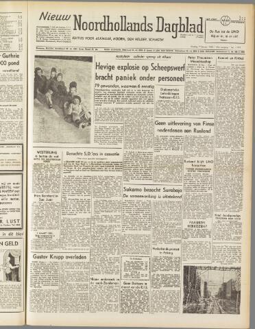 Nieuw Noordhollandsch Dagblad : voor Alkmaar en omgeving 1950-01-17