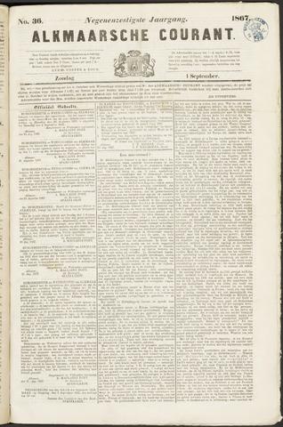 Alkmaarsche Courant 1867-09-01