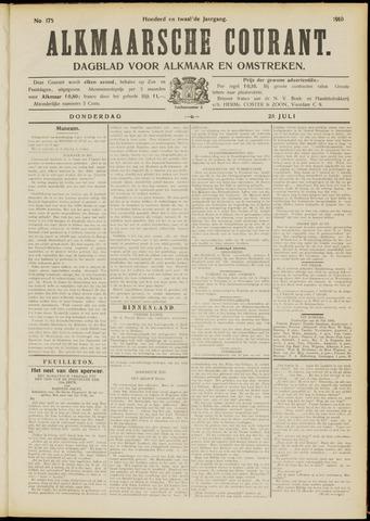 Alkmaarsche Courant 1910-07-28