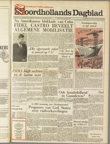 Noordhollands Dagblad : dagblad voor Alkmaar en omgeving 1962-10-23