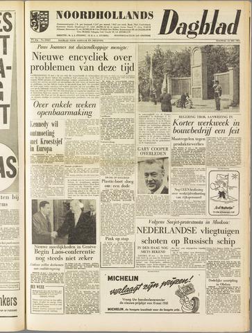 Noordhollands Dagblad : dagblad voor Alkmaar en omgeving 1961-05-15