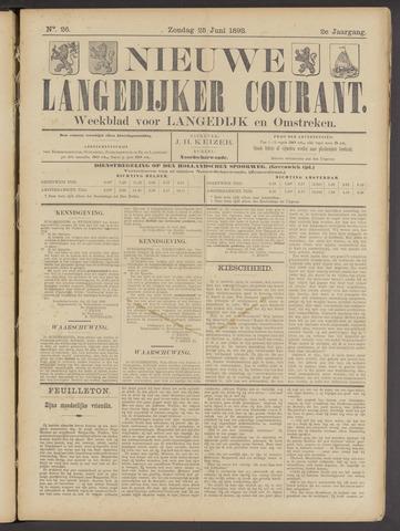 Nieuwe Langedijker Courant 1893-06-25