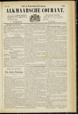 Alkmaarsche Courant 1893-06-09
