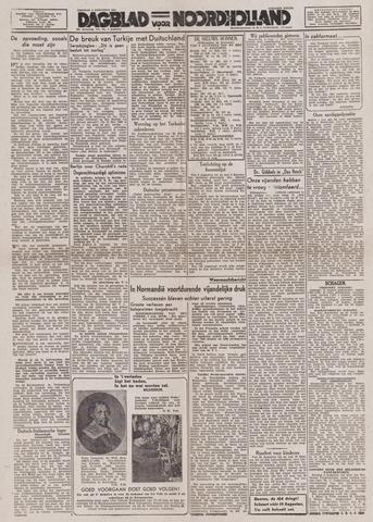 Dagblad Noord-Holland, Schager editie 1944-08-04