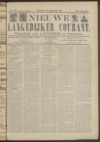 Nieuwe Langedijker Courant 1921-08-30