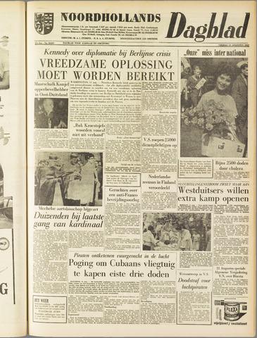 Noordhollands Dagblad : dagblad voor Alkmaar en omgeving 1961-08-11