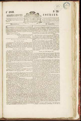 Alkmaarsche Courant 1849-08-13