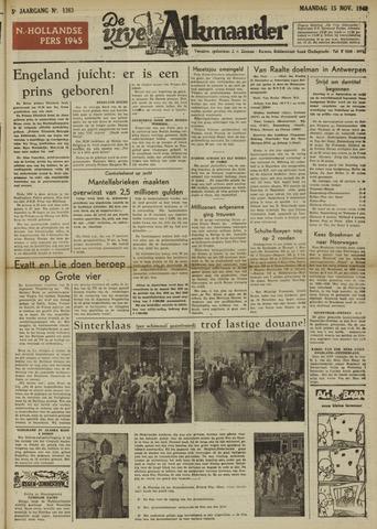 De Vrije Alkmaarder 1948-11-15