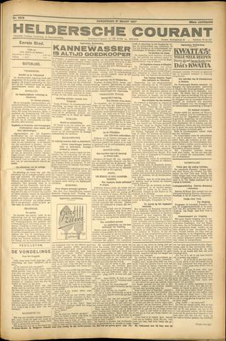 Heldersche Courant 1927-03-31