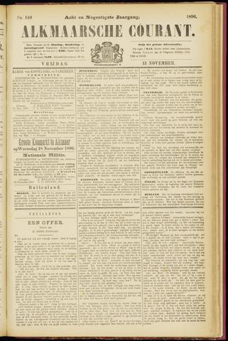 Alkmaarsche Courant 1896-11-13