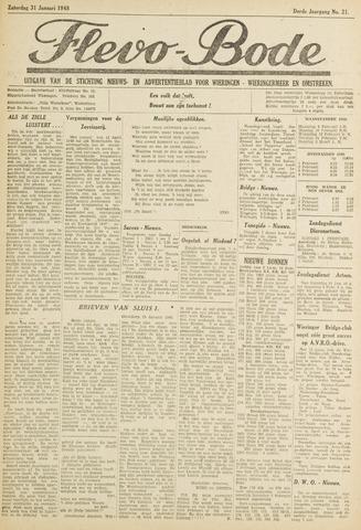 Flevo-bode: nieuwsblad voor Wieringen-Wieringermeer 1948-01-31