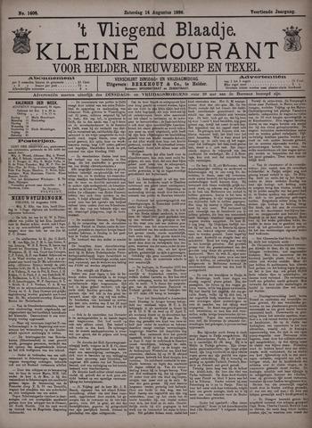 Vliegend blaadje : nieuws- en advertentiebode voor Den Helder 1886-08-14