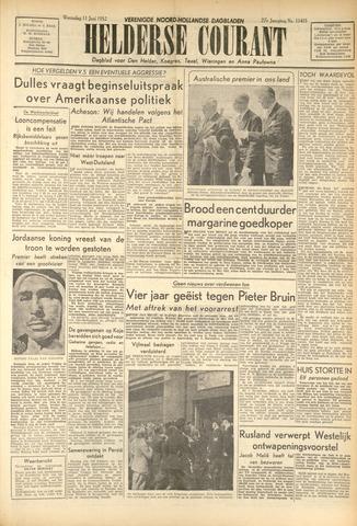 Heldersche Courant 1952-06-11