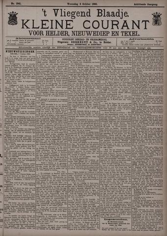 Vliegend blaadje : nieuws- en advertentiebode voor Den Helder 1890-10-08