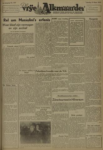 De Vrije Alkmaarder 1947-03-08