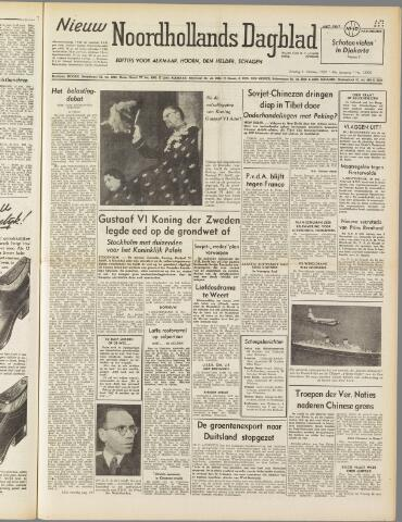 Nieuw Noordhollandsch Dagblad : voor Alkmaar en omgeving 1950-10-31