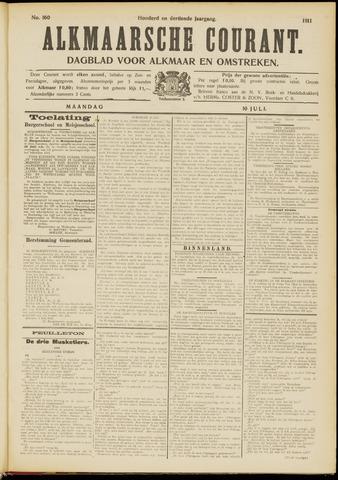 Alkmaarsche Courant 1911-07-10