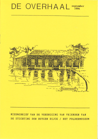 De Overhaal: historisch magazine Heerhugowaard 1994-09-01