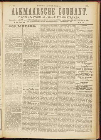 Alkmaarsche Courant 1917-05-16