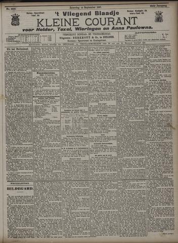Vliegend blaadje : nieuws- en advertentiebode voor Den Helder 1907-09-14