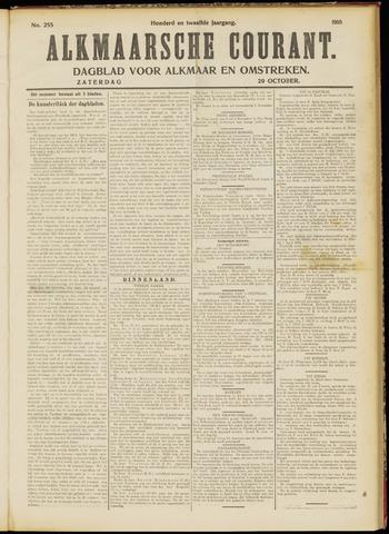Alkmaarsche Courant 1910-10-29