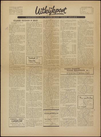Uitkijkpost : nieuwsblad voor Heiloo e.o. 1956-05-11