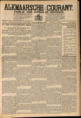 Alkmaarsche Courant 1934-10-20