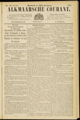Alkmaarsche Courant 1903-04-08