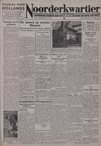Dagblad voor Hollands Noorderkwartier 1942-04-16