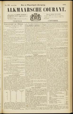Alkmaarsche Courant 1894-11-02