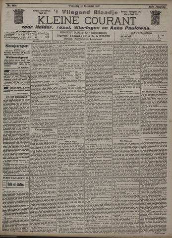 Vliegend blaadje : nieuws- en advertentiebode voor Den Helder 1907-12-18