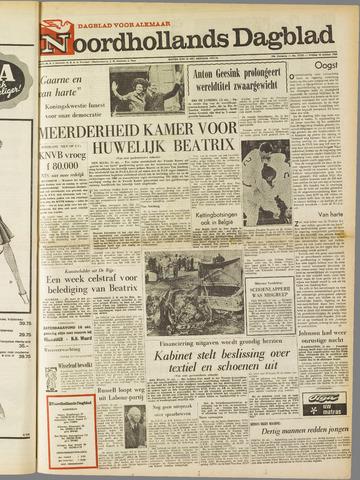Noordhollands Dagblad : dagblad voor Alkmaar en omgeving 1965-10-15