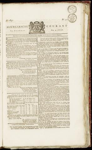 Alkmaarsche Courant 1831-07-25