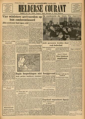 Heldersche Courant 1954-01-26