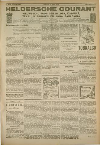 Heldersche Courant 1930-04-22