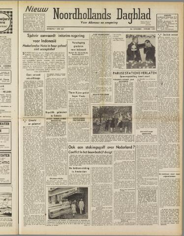 Nieuw Noordhollandsch Dagblad : voor Alkmaar en omgeving 1947-06-07