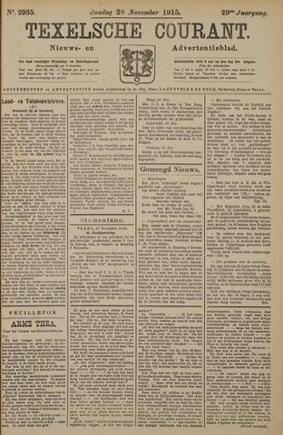 Texelsche Courant 1915-11-28