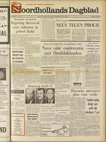 Noordhollands Dagblad : dagblad voor Alkmaar en omgeving 1969-04-11