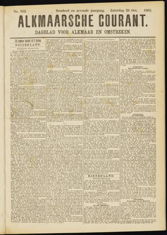 Alkmaarsche Courant 1905-10-28