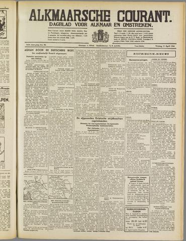 Alkmaarsche Courant 1941-04-11