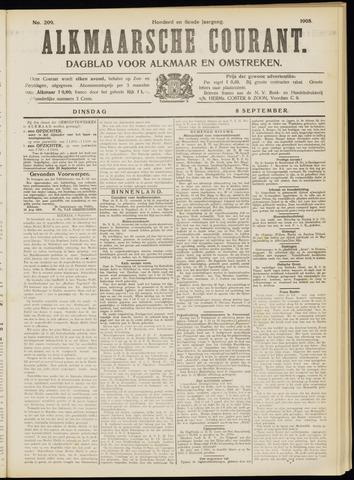 Alkmaarsche Courant 1908-09-08