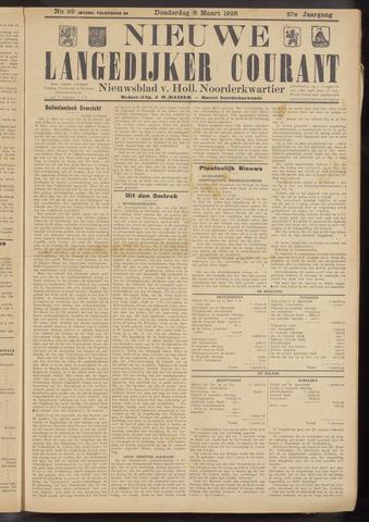 Nieuwe Langedijker Courant 1928-03-08