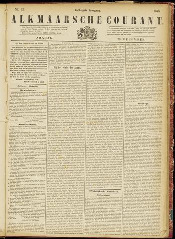 Alkmaarsche Courant 1878-12-29